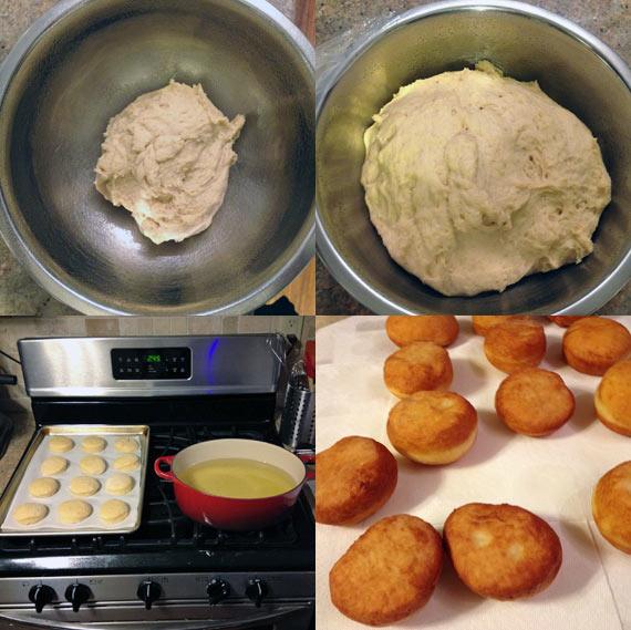 Making Irish Cream Donuts