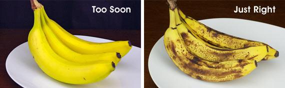 Perfect Ripeness For Banana Bread