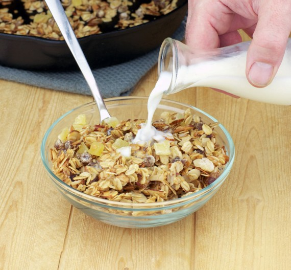 Granola From A Skillet
