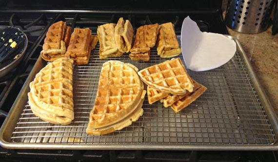 Waffle Taco Test Kitchen