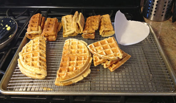 Taco Bell Kitchen recreating taco bell's waffle taco | team breakfast