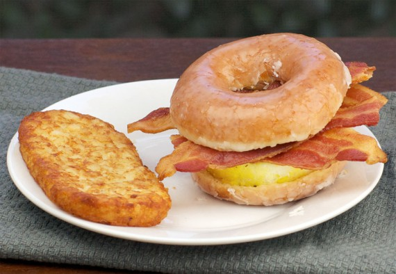 Recreating The Glazed Donut Breakfast Sandwich