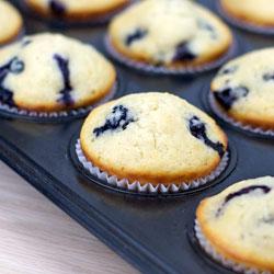 Basic Blueberry Muffins