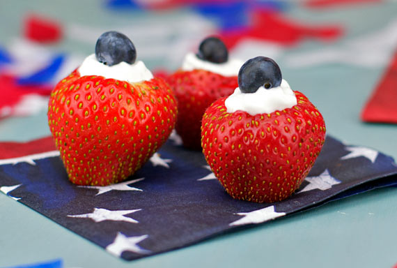 Fourth of July Berry Bites