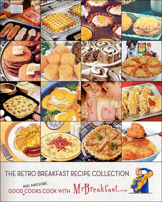 Retro Breakfast Recipe Collection