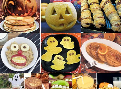 Fun Halloween Breakfast Ideas