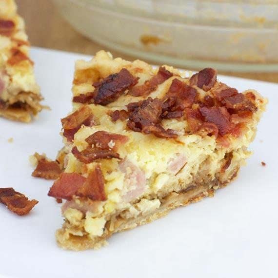 Spam & Fig Jam Breakfast Pie