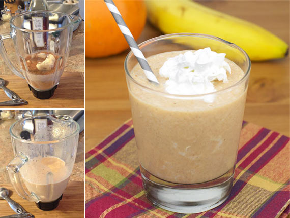 Frozen Pumpkin Smoothie