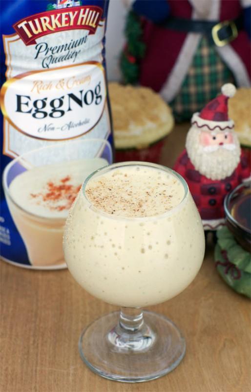 Eggnog Smoothe