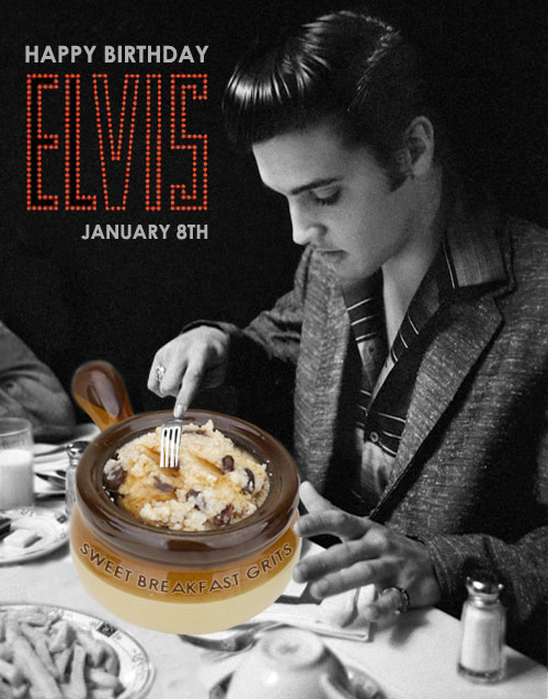 Happy Birthday Elvis Presley!