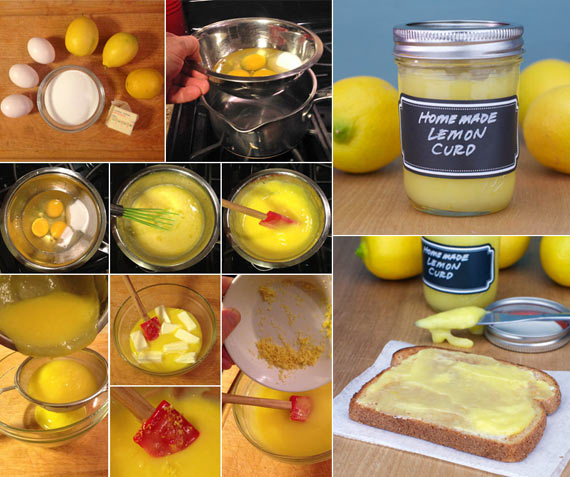 Homemade Lemon Curd Recipe