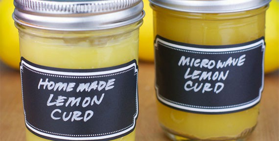 Homemade Lemon Curds