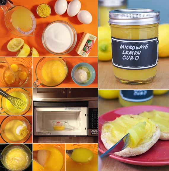 Microwave Lemon Curd Recipe