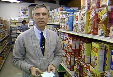 1984 Cereal Aisle With Mr. Rogers