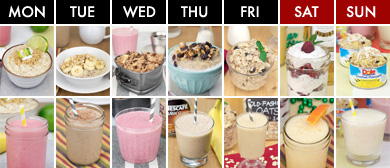 A Week Of Oatmeal And Smoothies