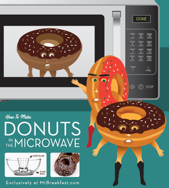 How To Make Donuts In The Microwave