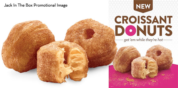 Croissant Donuts from Jack In the Box - In Promos