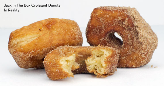 Croissant Donuts from Jack In the Box - In Reality