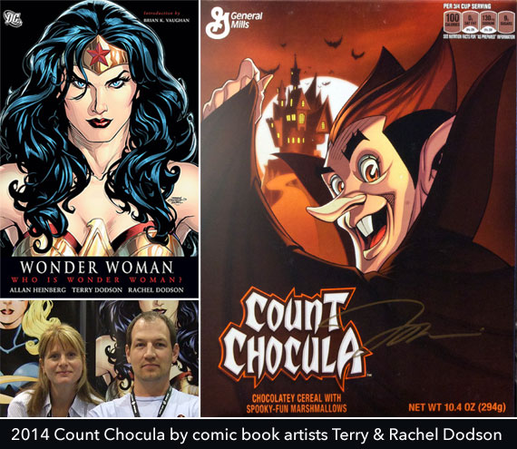 2014 Count Chocula Box By Terry and Rachel Dodson