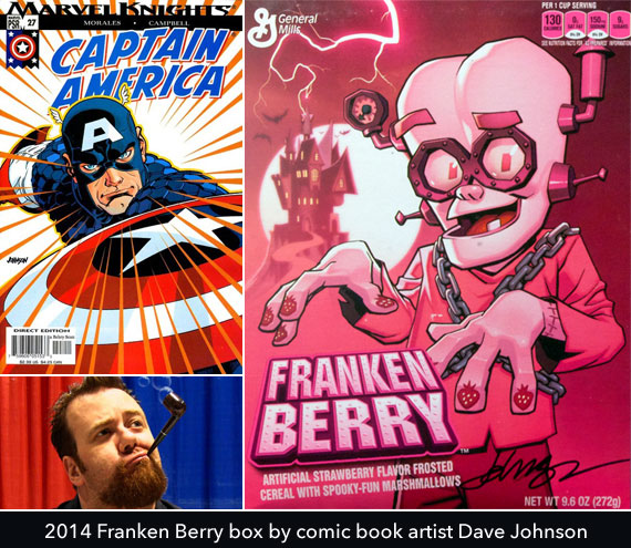 2014 Franken Berry Box By Dave Johnson