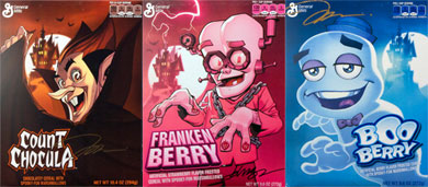 Monster Cereals 2014