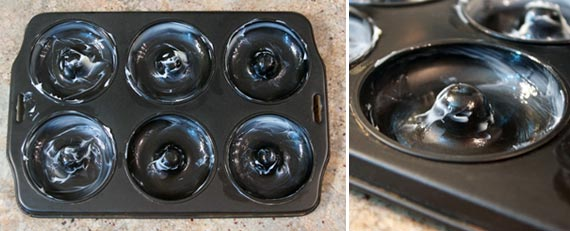 Greased Donut Pan