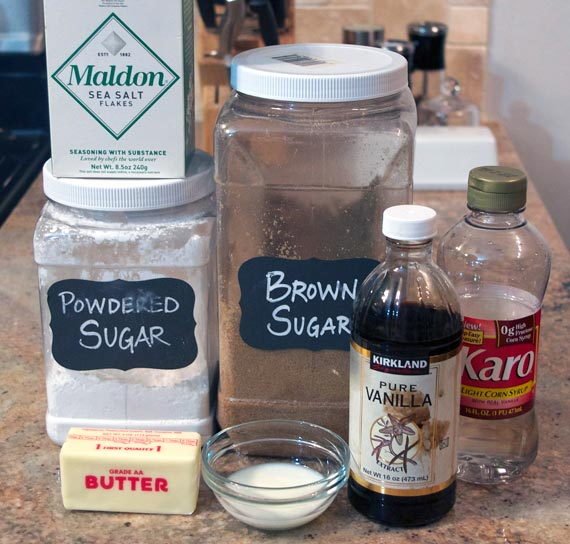 Caramel Icing Ingredients