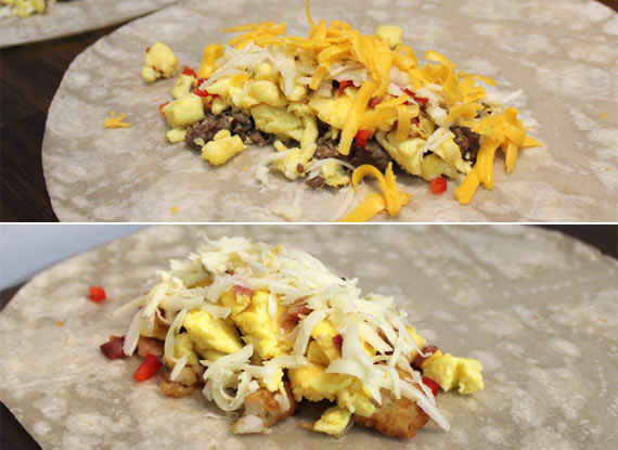 Fillings For Homemade Frozen Breakfast Burritos