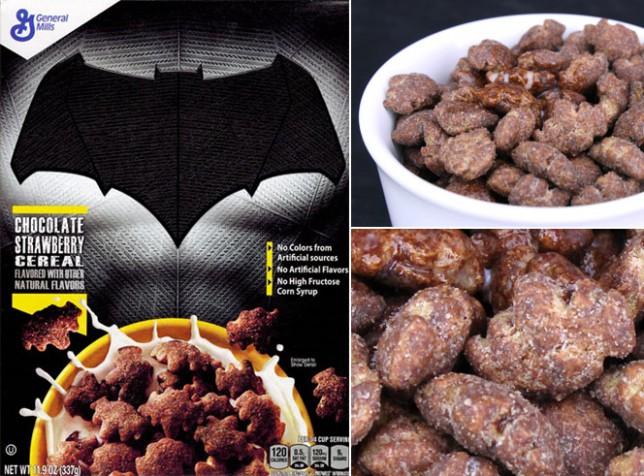 Batman Chocolate Strawberry Cereal