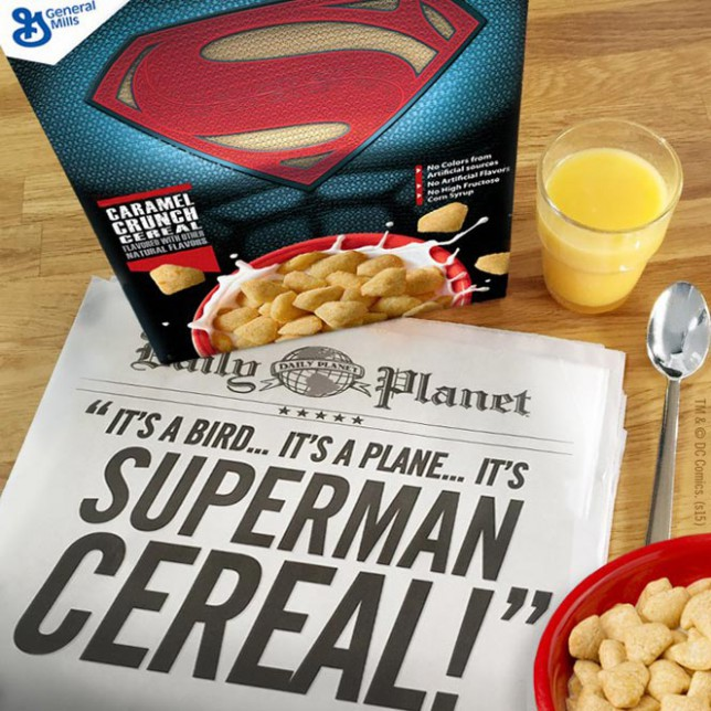 The Winner: Superman Caramel Crunch Cereal