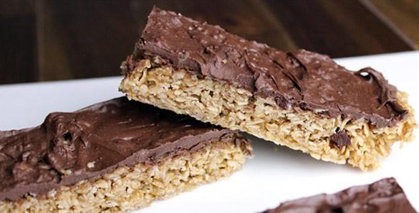 Chewy Granola Bars In The Microwave