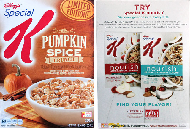 Pumpkin Spice Crunch Special K