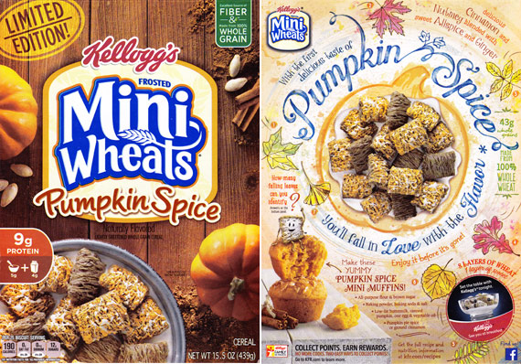Pumpkin Spice Frosted Mini-Wheats