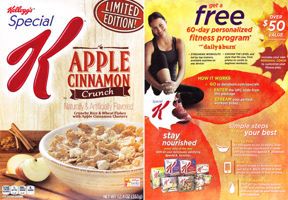 special k breakfast cereal positioning Compare breakfast cereals nutrition facts food calories protein fat carbohydrates cholesterol cereals ready-to-eat, kellogg's special k multigrain oats and honey.