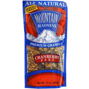Mountain Madness Granola: Cranberry Zest