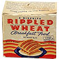 Rippled Wheat Breakfast Food
