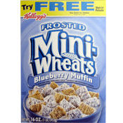 Frosted Mini-Wheats: Blueberry Muffin