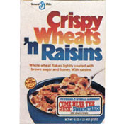 Crispy Wheats 'n Raisins