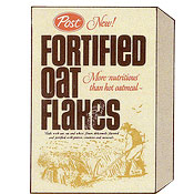 oat flakes post oat flakes cereal box