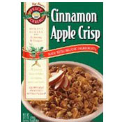 Cinnamon Apple Crisp and later a cereal called Apple Cinnamon Crisp ...