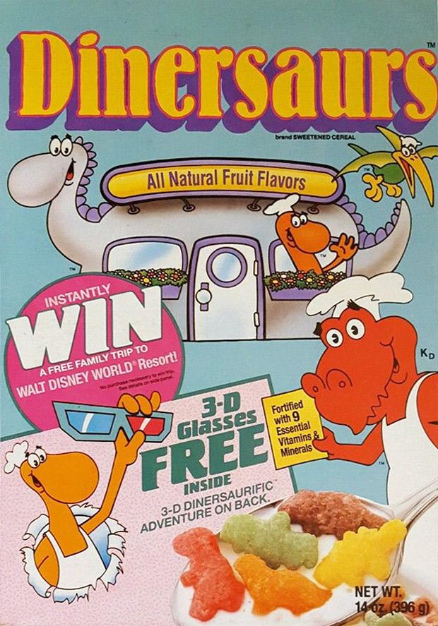 Dinersaurs Cereal Mrbreakfast Com