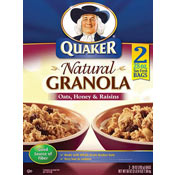 Natural Granola: Oats, Honey & Raisins