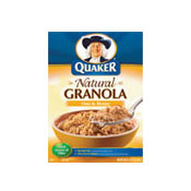 Natural Granola: Oats & Honey