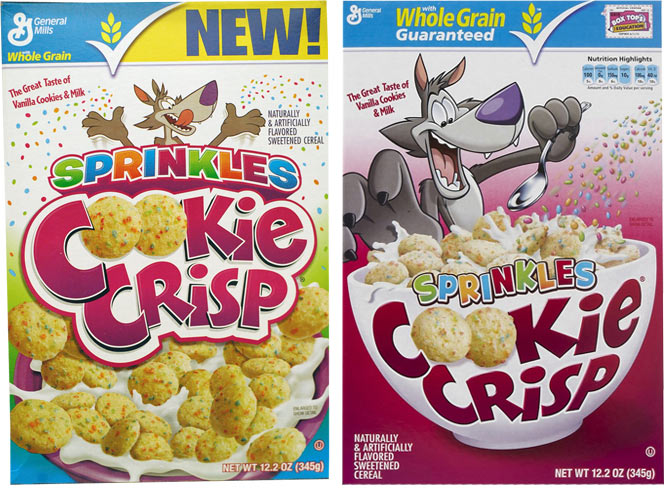 Sprinkles Cookie Crisp Cereal Profile