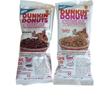 Dunkin' Donuts Cereal: Chocolate And Glazed