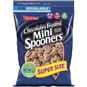 Chocolatey Frosted Mini Spooners