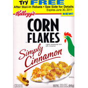 Simply Cinnamon Corn Flakes