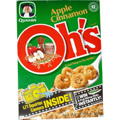 Apple Cinnamon Oh!s