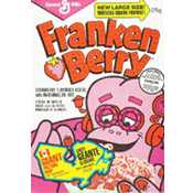 Franken Berry Cereal