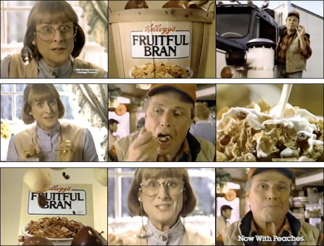 1983 Fruitful Bran Bushels Of Flavor Commercial